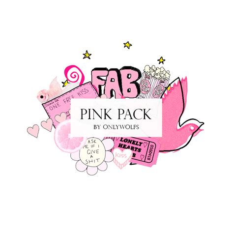 pack imagenes png tumblr pink pack pack rosa pack 7 by onlywolfs on deviantart