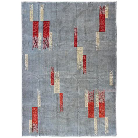 Mid Century Modern Rugs Mid Century Modern Turkish Rug For Sale At 1stdibs