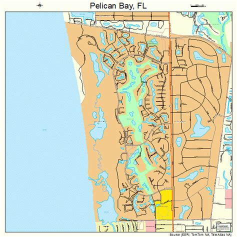 pelican bay florida map pelican bay florida map 1255650
