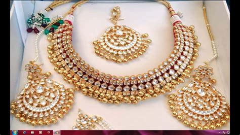 New Gold On The Design Collection by Indian Gold Jewellery Collection 2016 Gold
