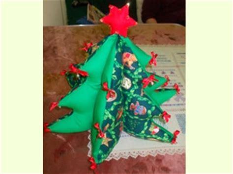 manualidades navidad arbol de patchwork