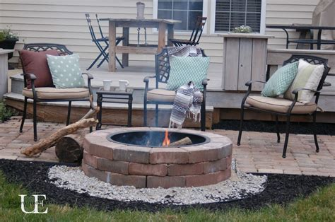 diy pit wood deck hometalk diy paver patio and pit