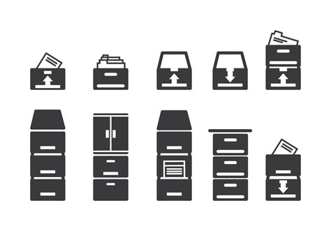 schrank png file cabinet icons free vector stock