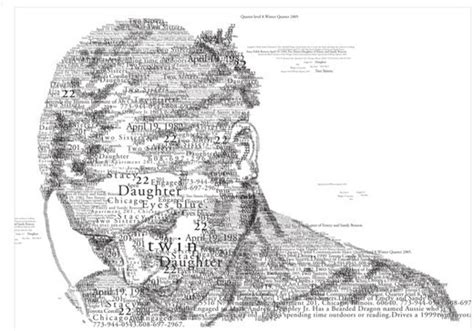 Tipografi Lennon 45 creative typography and mosaic portraits noupe