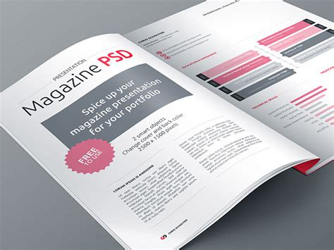 design magazine psd free 40 creative magazine psd mockups to download hongkiat