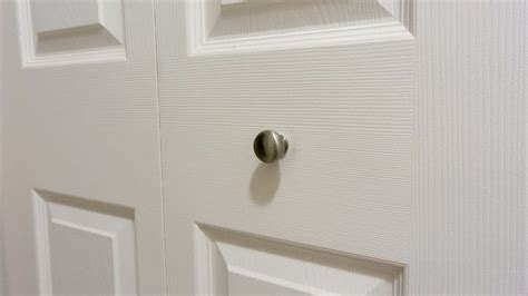 Closet Door Knobs Home Depot by Bifold Closet Door Knobs Home Depot Home Design Ideas
