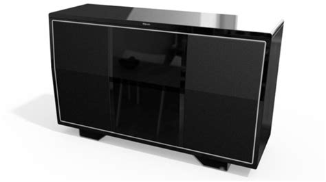 klipsch console airplay speaker preview audioholics