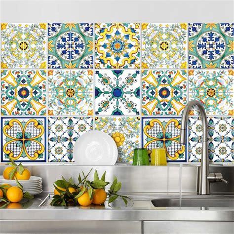 Decorare Piastrelle - decorare con le piastrelle adesive 16 idee per la vostra