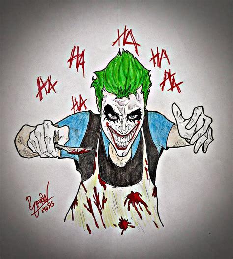 imagenes de un joker bienvenidos al manicomio mr pencilmaniac