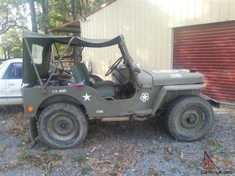 willys jeep road jeep willys 4 wheel drive rhd road