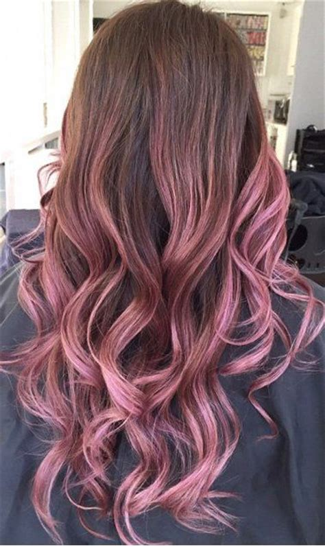 Ombre Hair Clip Dusty Pink 17 best ideas about pink hair highlights on