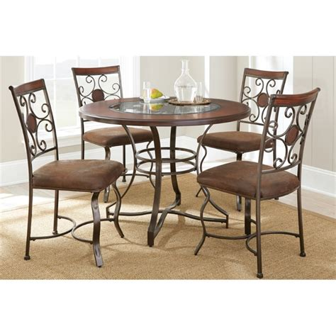 steve silver dining table steve silver toledo glass top dining table in