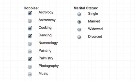 Html Design Checkbox | jquery plugins for styling checkbox radio buttons