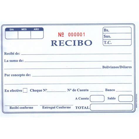 recibos de pago gobernacion de miranda recibos modelos de recibos modelo factura