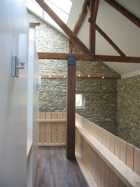 bank barn renovation contemporary hall philadelphia christopher jeffrey architects pllc