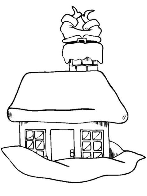 coloring pages santa chimney mrs claus clip art cliparts co