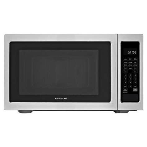 Kitchen Aid Countertop Microwave kitchenaid kcms1655bss 1 6 cuft countertop microwave 1200