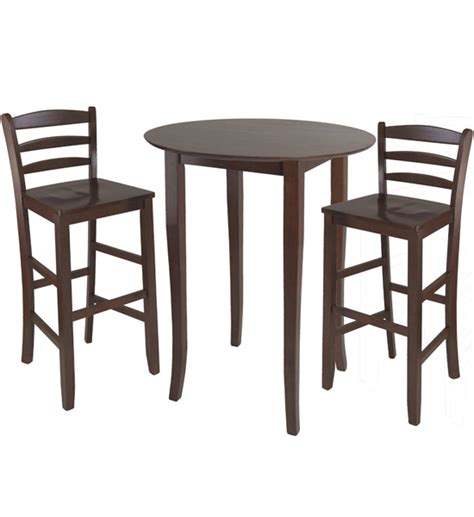 High Table And Chair Set by Three High Top Dining Table And Chairs In Bar Table Sets