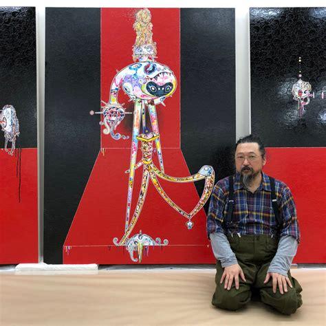 murakami   famous artists feel  crying