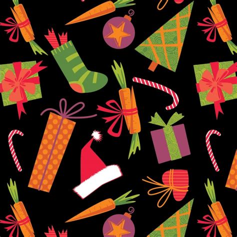 christmas pattern ai christmas pattern background vector free download
