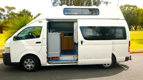 Kitchen Curtains by Toyota Hiace Hitop Camper