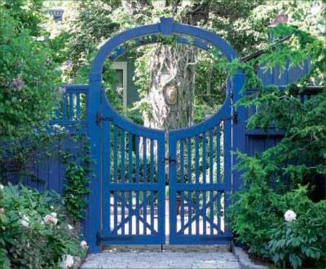 Garden Arbor Swing by Custom Arbor And Gate Entrance Gates Wood Gates And