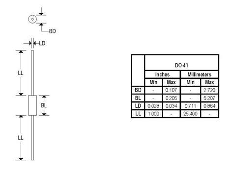 1n4007 diode dimensions 1n4007 digitron semiconductors