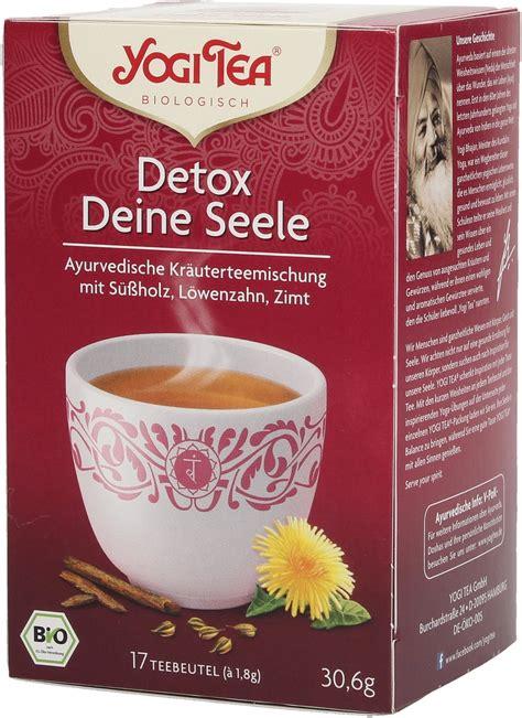 21 Detox Tea by Yogi Tea Detox Tea 17 Bags Ecco Verde Shop