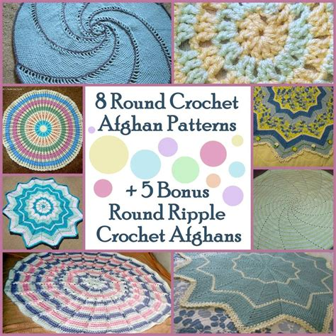 beginner s round ripple allfreecrochetafghanpatterns com 10 round crochet afghan patterns 7 bonus round ripple