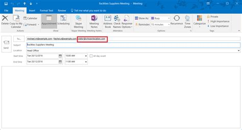 Calendar Invite Outlook How To Pre Register Visitors From Your Calendar