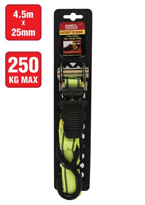 Tali Pengikat Ratchet Tie 25mm X 5mm handy hardware ratchet tie 4 5m x 25mm