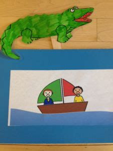 1000 images about preschool alligator crocodile on - Row Row Row Your Boat Lyrics With Alligator