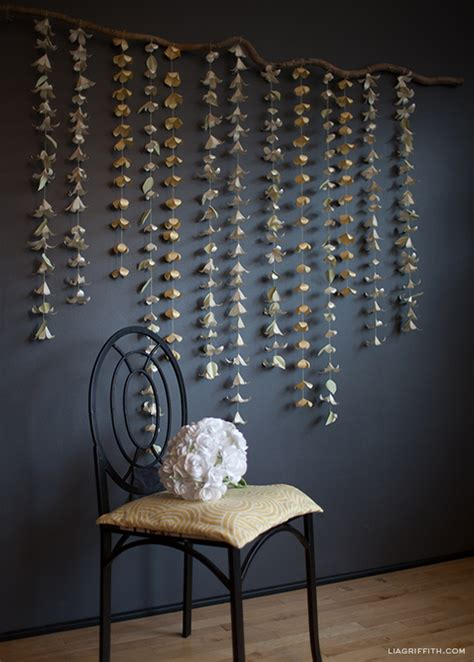 Paper Flowers Floral Garland Decor Home Wall Decor 15 Wonderful Diy Garlands For Wedding Decor Happywedd