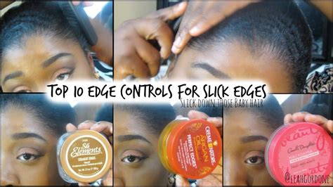 best products to use for thinning edges african american 10 edge controls for natural relaxed hair sleek edges