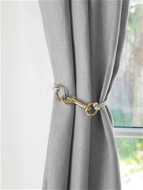 unique curtain tie back ideas unique drapery tiebacks driven by decor