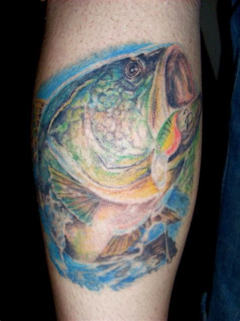largemouth bass tattoo designs large bass picture at checkoutmyink