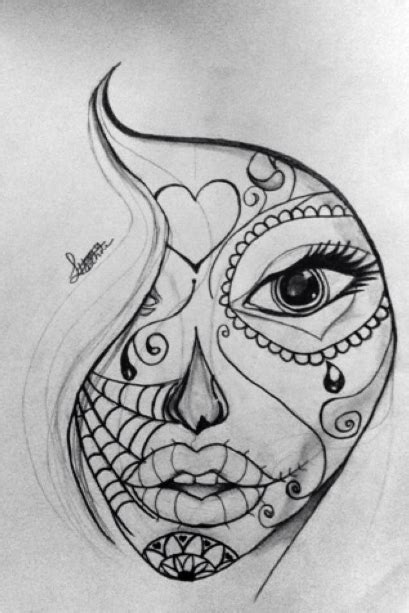 doodle god how to make sugar drawing 1 sugar skull doodle by 50shadesofawkward on
