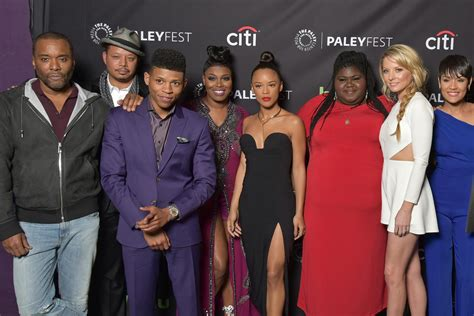 actress that plays l on tv show empire lee daniels and empire cast address off screen drama and