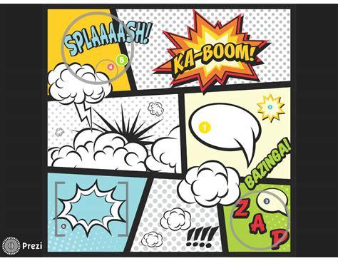 comic template comic prezi premium templates