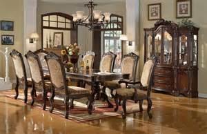 formal dining room set home furniture belmont formal dining room set