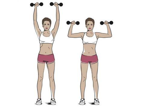 Armchair Exercises How To Do Shoulder Presses Women S Health