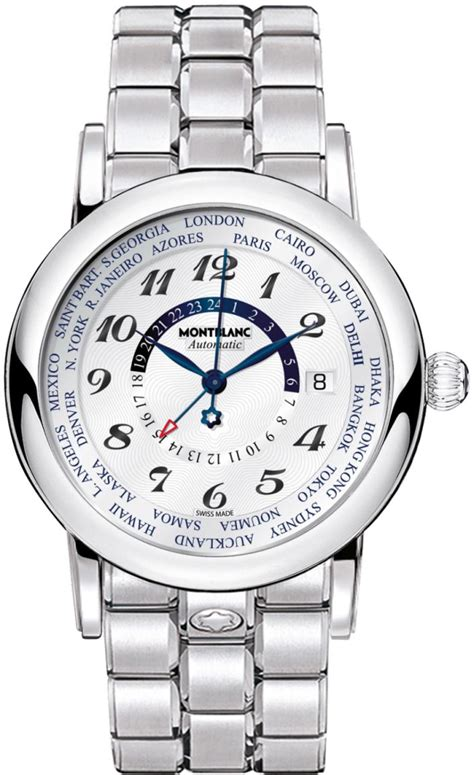 Montblanc Automatic World Time Leather 107 best images about montblanc s watches on