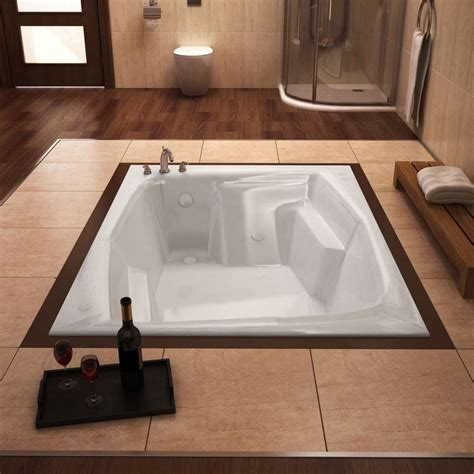 acrylic soaking bathtub mountain home bards 54x72 inch acrylic soaking drop in