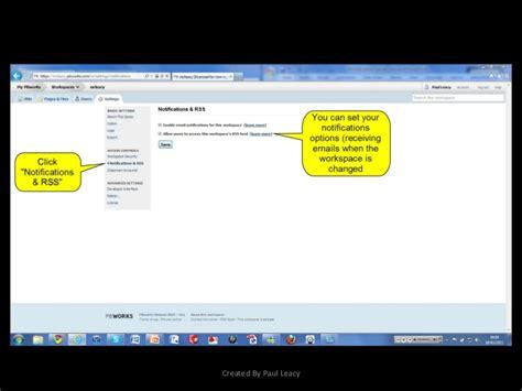 tutorial video wiki using your wiki tutorial pbworks