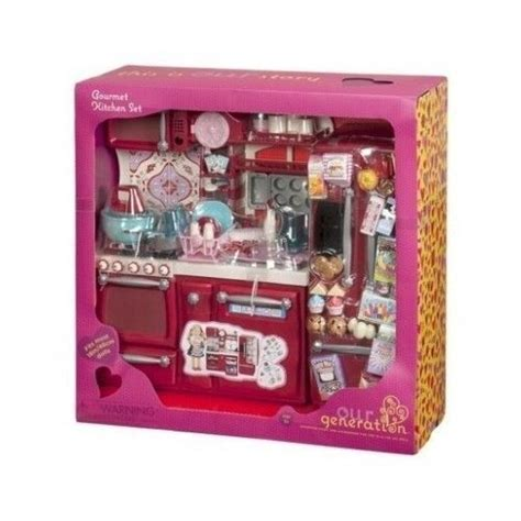 New Our Generation Gourmet Kitchen Set For Girl 18 Quot Dolls 18 Doll Kitchen Set
