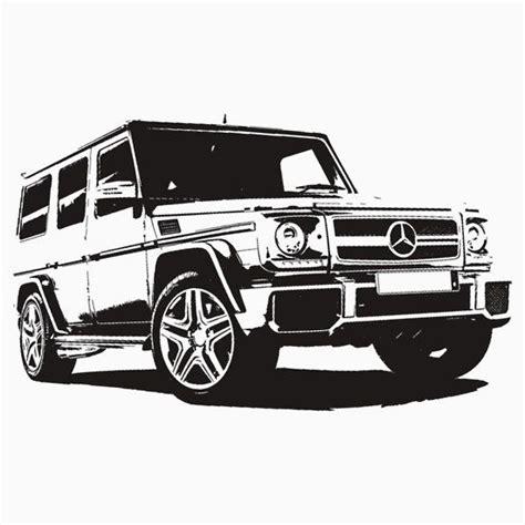 Drawing G Wagon by Mercedes G Class Gelandewagen
