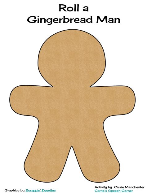 gingerbread man printable pdf simple gingerbread man worksheets new calendar template site