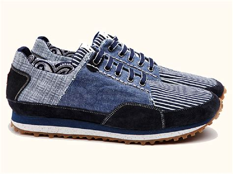 jean sneakers your own universe denim running sneakers topsiders boat