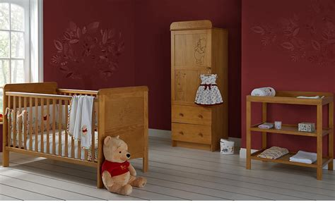 Winnie The Pooh Bedroom Furniture Winnie The Pooh 3 Nursery Furniture Set Country Pine Shopstyle Co Uk