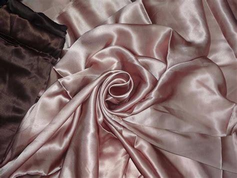 Dusty Pink Silk Satin 100 silk satin fabric 54 quot dusty color 95 grams